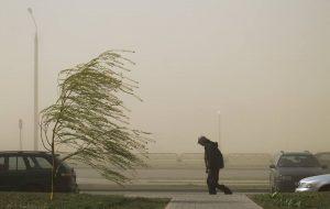 Пылевая буря из Африки пришла и в Гродно