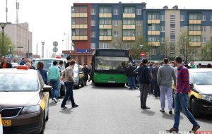 В Гродно бастуют таксисты: требуют повышения тарифов