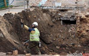 Знаходкі ёсць: на месцы страчанага яўрэйскага квартала ў Гродне працуюць археолагі