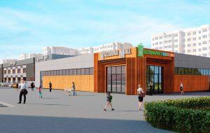 В бывшей казарме на Щорса откроют торговый центр Kazzarma Mall. Так он будет выглядеть