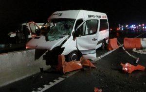 СК завершил расследование смертельного ДТП на трассе М6 с участием гродненской маршрутки