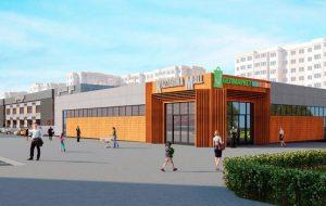 В будущем ТЦ «Kazzarma Mall» на Щорса откроется «прозрачная» пиццерия