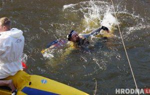 Нёманская вясна-2019: Шалёны Макс разбудзіў турыстаў-воднікаў ад спячкі і накарміў тушонкай