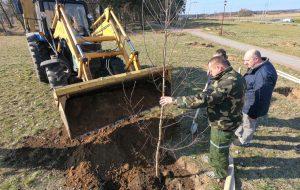 В Ольшанке появится парк! Его заложили к 75-летию области
