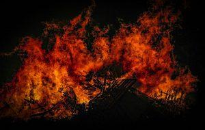 Под Гродно сгорел дачный дом. Там найден труп хозяйки