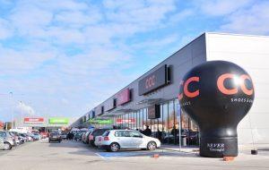 В Сокулке открылся новый торговый центр недалеко от центра города