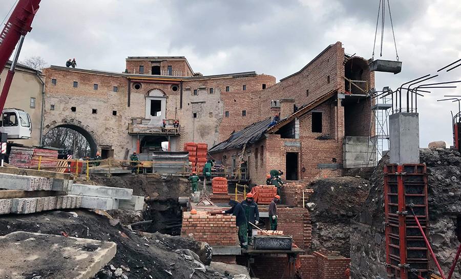 Не Санці Гучы. Стары замак у Гродне насамрэч спраектаваў немец?
