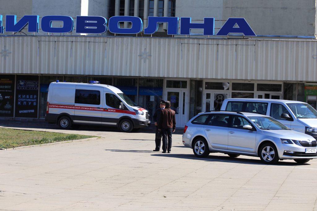 В милицию сообщили, что «Радиоволна» заминирована. Взрывчатки не обнаружено
