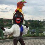 """В Гродно появилась """"зажигалка"""", которая радует своими танцами"""