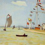 Майстар-клас па маляванні працы Альбера Марке Порт у Онфлер