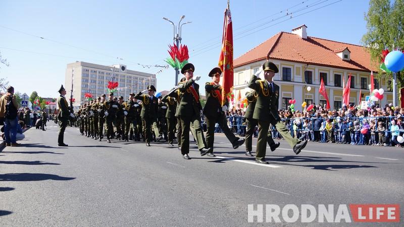ФОТА: Гродна святкуе Дзень Перамогі