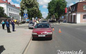 В центре Щучина машина сбила четырехлетнего ребенка