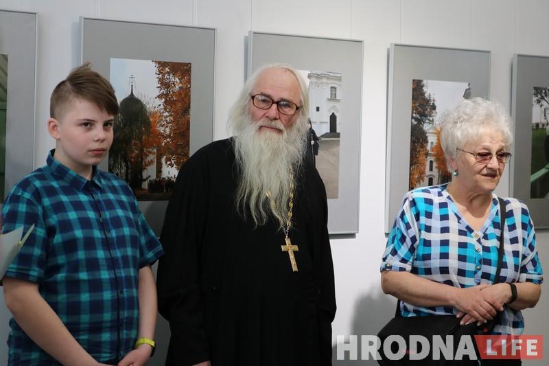"""""""Монастырский дворик"""" Жировичей можно увидеть в Гродно. На выставке Натальи Дорош"""