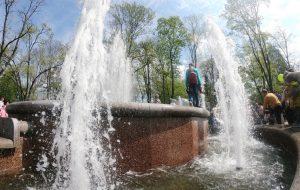 В Гродно открыли сезон фонтанов
