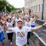 Благотворительные «Европейские забеги» #velcombegom проходят в Гродненской области вместе с эстафетой «Пламя мира»