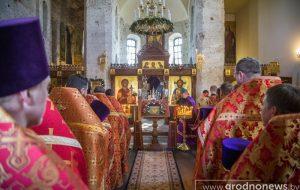 В Борисо-Глебскую церковь вернулась святыня – историческая копия Коложской иконы Божией Матери
