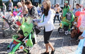 В День семьи в центре Гродно пройдёт парад колясок