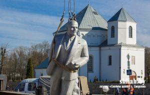 З галоўнай плошчы Смаргоні прыбралі Леніна: «Не мае каштоўнасці»