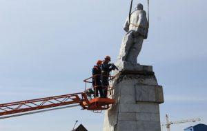 У Смаргоні дэмантавалі Леніна. Абяцаюць вярнуць «яшчэ лепшым».