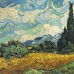 Майстар-клас па маляванні работы Вінцэнта Ван Гога Пшанічнага поле з кіпарыса