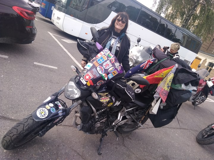 Участницы крупнейшего в мире женского мотопробега побывали в Гродно