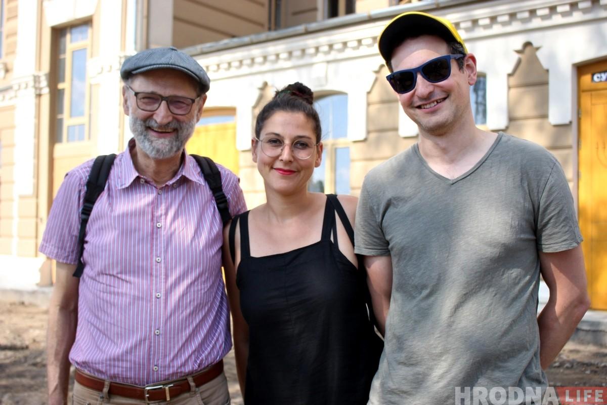 Сям'я Левін з Швейцарыі прыехала шукаць у Гродна свае карані