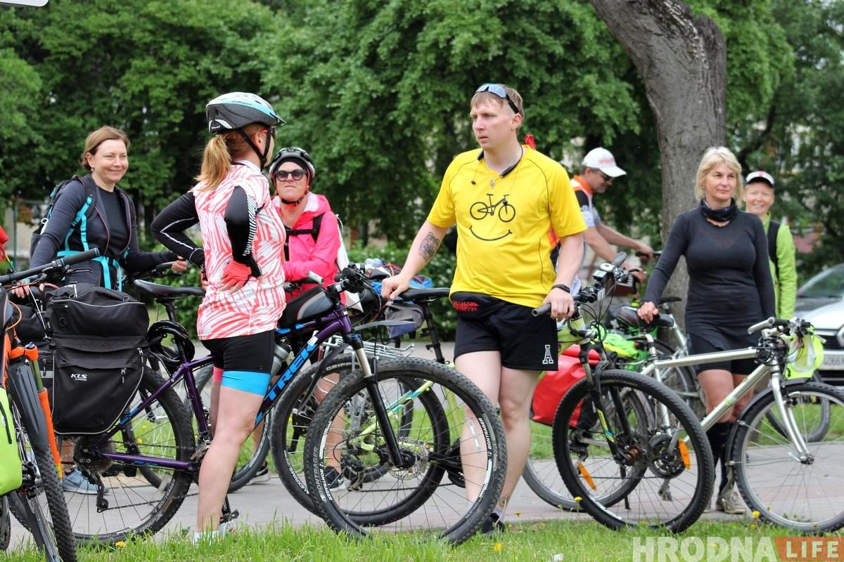 Туризм, доступный каждому: как гродненский и вильнюсский велоклубы ездят друг к другу в гости