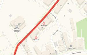 Движение по улице в центре Гродно закроют почти на месяц