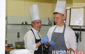 Кухня – это международный язык. Звездный шеф из Франции готовил вместе с гродненскими поварами блюда в стиле Прованс