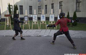 У Гродне прэзентавалі рух HEMA, які хочуць зрабіць алімпійскім відам спорту