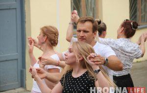 Танцы гарадзенскіх дворыкаў адкрылі новы сезон