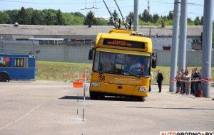 В Гродно пройдет конкурс профессионализма водителей троллейбусов. Участвуют четыре страны