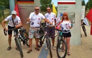 Гродненцы преодолели первый этап велотура вокруг Балтики