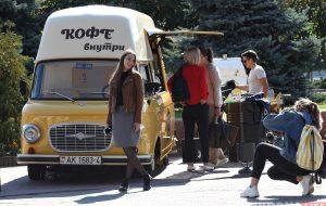 «Здесь частичка нашего сердца». Самая известная кофейня на колёсах в Гродно отметила первый день рождения