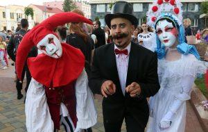 ФОТА: У Гродне прайшоў фестываль вулічнага мастацтва