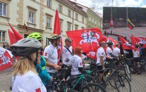 Гродненцы отправились в велотур вокруг Балтикивместе с литовскими коллегами