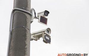 В Гродно появились камеры, фиксирующие проезд транспорта на красный свет