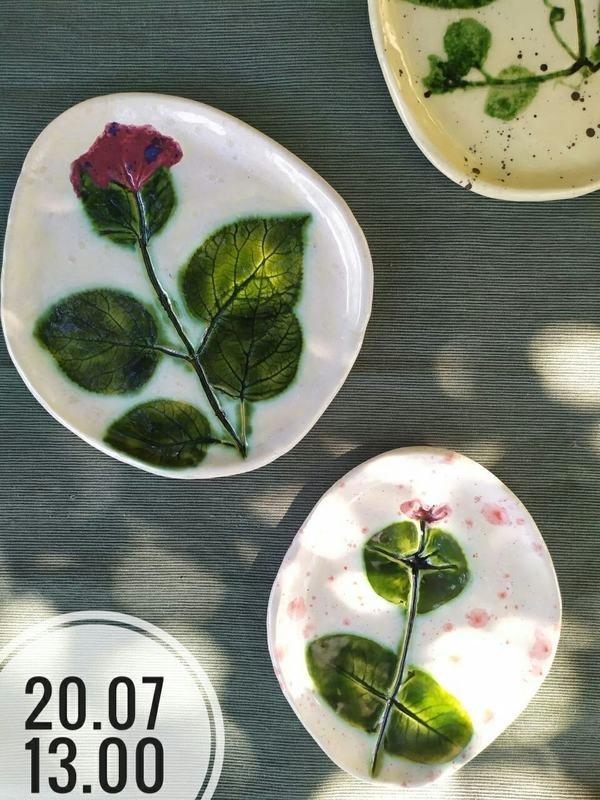 Майстар-клас па лепцы керамічнага посуду ў Партале ад RedАrt