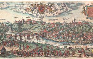 «Белкартография» издало цветную реконструкцию гравюры Цюндта с описанием по-белорусски