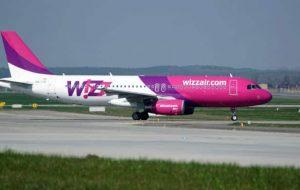 В Беларусь будет летать лоукост Wizzair — рейсы семь дней в неделю. Но не в Гродно