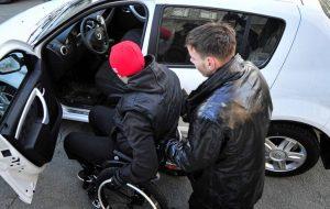 У Гродне можа з'явіцца вучэбная машына для людзей з інваліднасцю