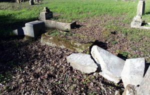 Следственный комитет: старое кладбище в Лиде разгромили маленькие дети