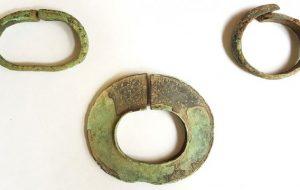 В Гольшанах нашли украшения Х века