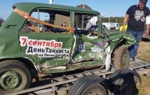 "На ""Линии Сталина"" прошла масштабная битва машин. У гродненца Николая Веремеенко - 2-е место"