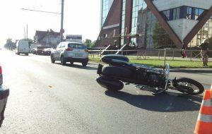 Авария с автомобилем и мотоциклом: что известно