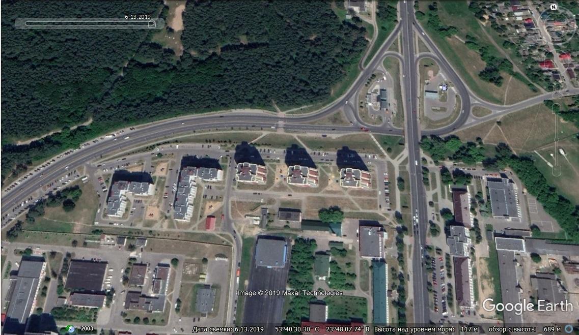 Панельки вместо полей, торговые центры на пустырях и дороги на месте тропинок. Как рос Гродно последние 17 лет