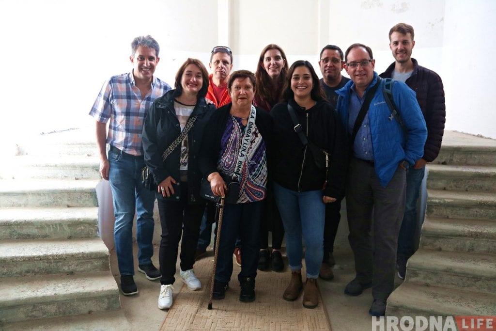 Евреи из Мексики приехали в Гродно знакомиться с землей предков
