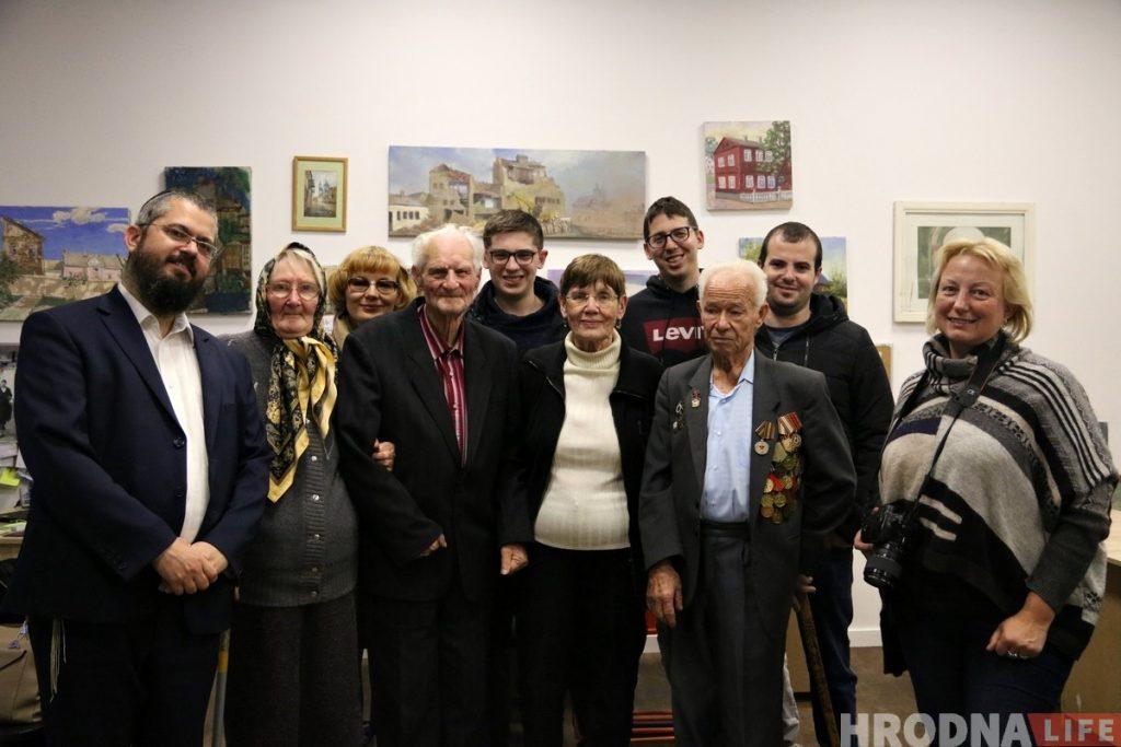 Встреча с Рут Маркус в редакции: «Отец был бы рад, если бы знал, что я на Кирова рассказываю гродненцам про семью»