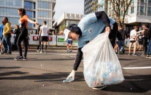У час паўмарафона валанторы сабралі смецце: Беларусь далучаецца да міжнароднай экалагічнай акцыі World Clean Up
