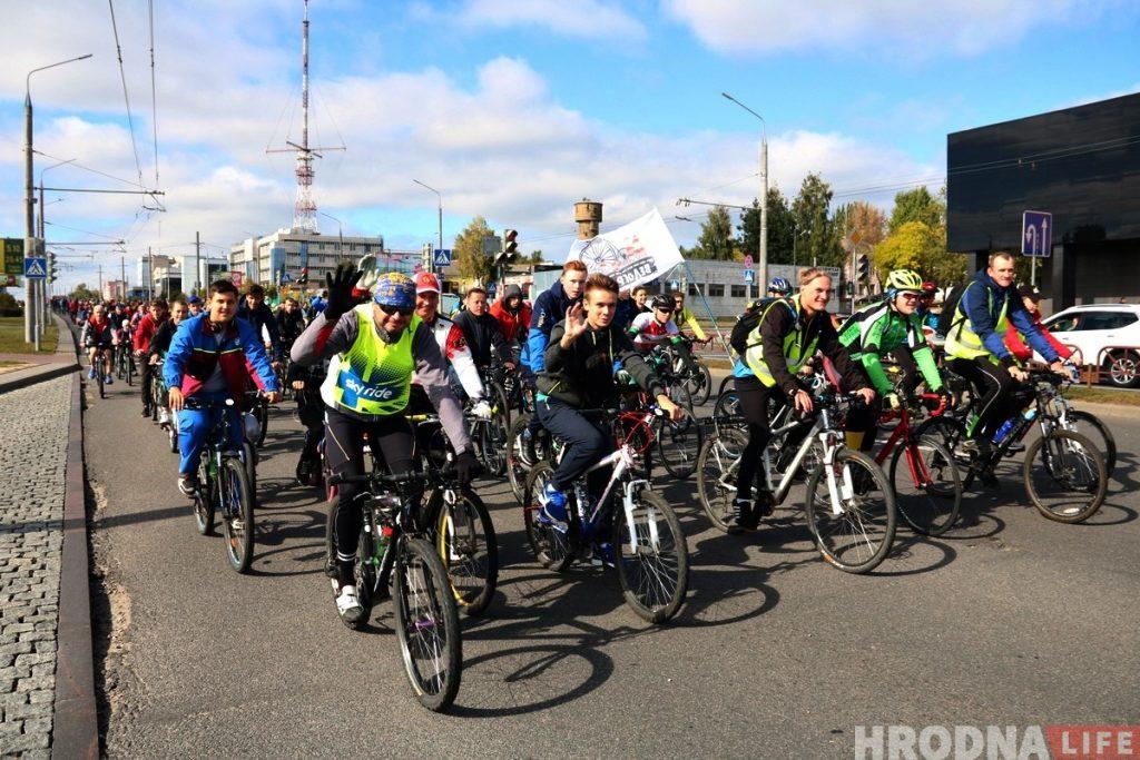ВелоГродно День без автомобиля велопробег